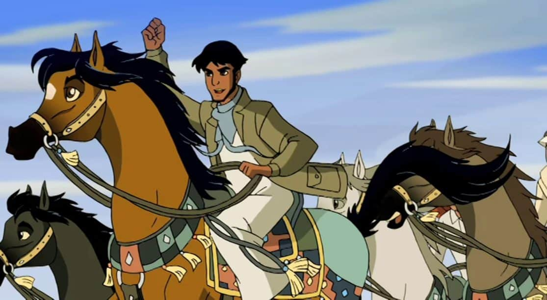 Trailer for the proposed animated feature Children of the Wind based on Brad Rader's storyboard