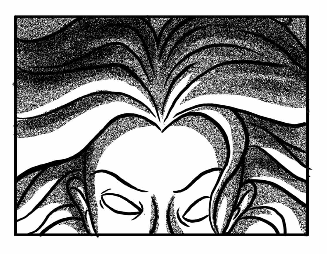 Continuously animate Banshee #1 away from camera…  (SFX/CONT): (BANSHEE WAIL)