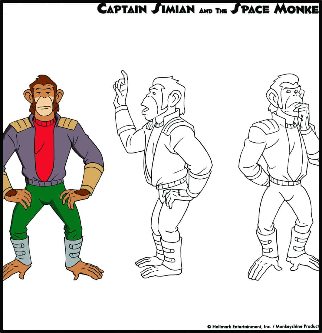 Simian_Model_Full_Figure_Turn_Color