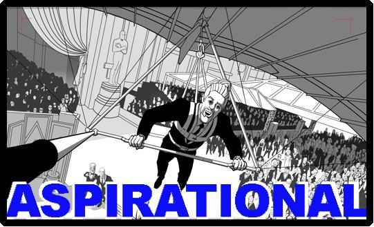 Aspirational storyboards