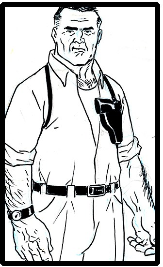 Character designs by Brad Rader for Fogtown