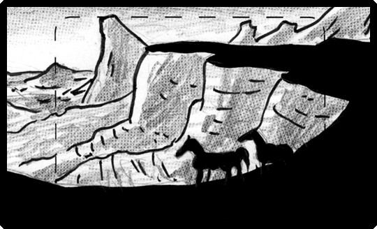 Children of the Wind trailer storyboard