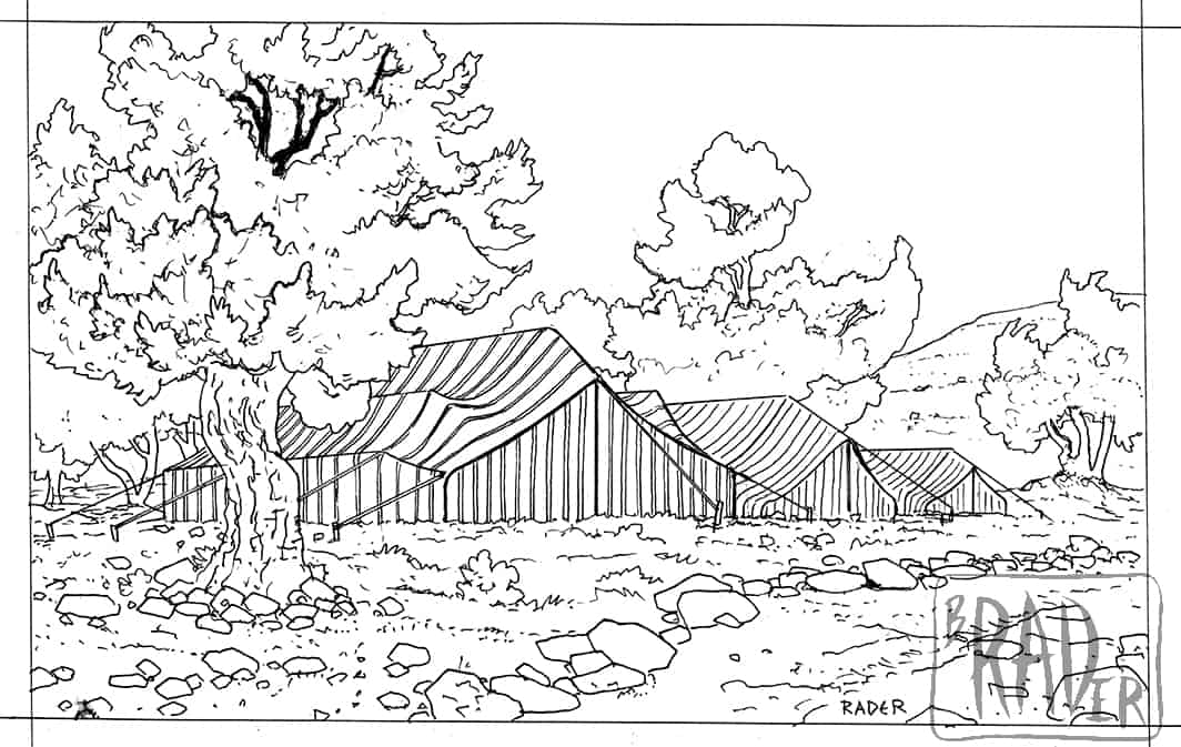 Cleangela's encampment for The Greatest Escape