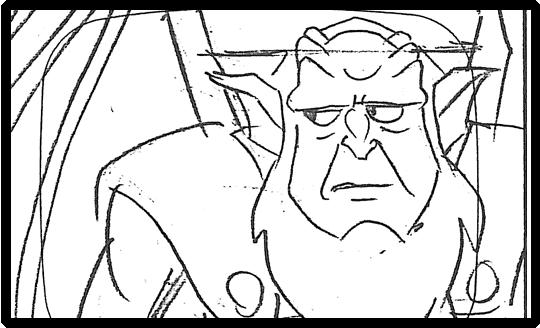 Gargoyles Storyboard
