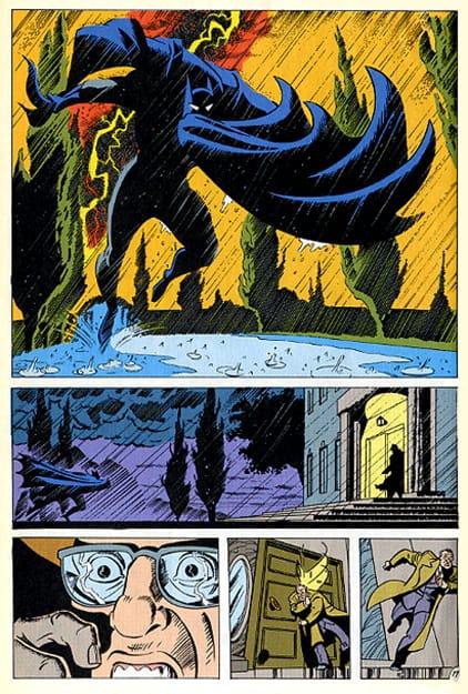 The Batman Adventure comics volume 16, The Third Door, pencilled by Brad Rader