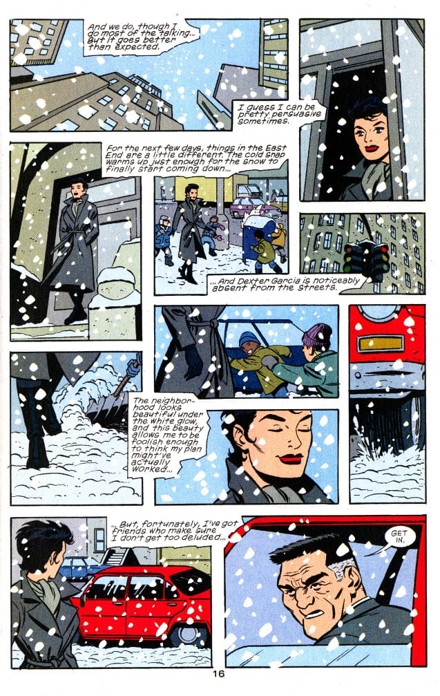 Catwoman comics 3rd series number 5 page 16 pencilled by Brad Rader
