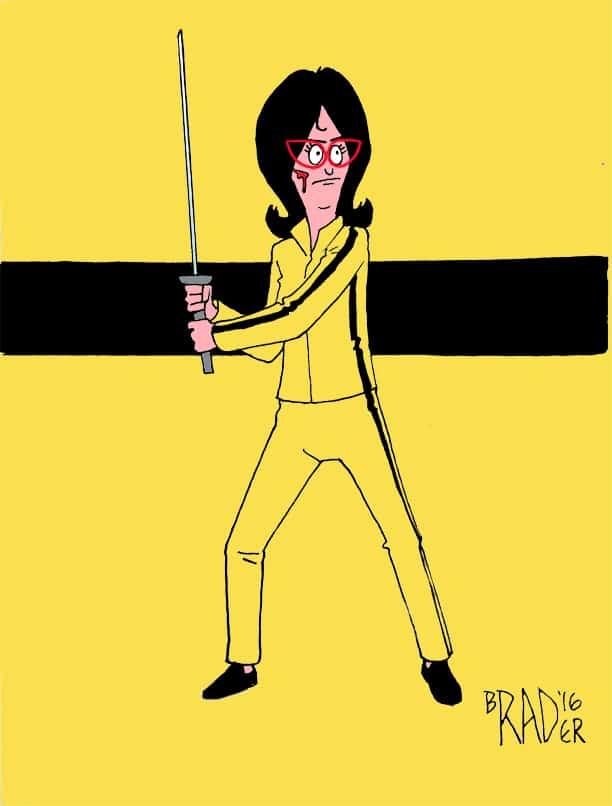 Kill Bob by Brad Rader with Linda Belcher from Bob's Burgers