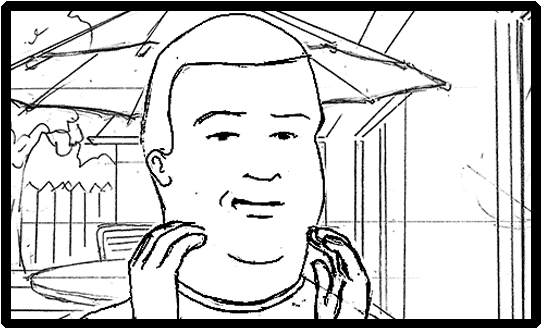 King of the Hill Storyboard