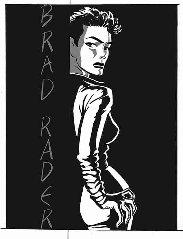 Selena Kyle Catwoman by Brad Rader