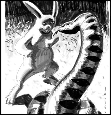soliloquy_Rabbit_VS_Snake_op