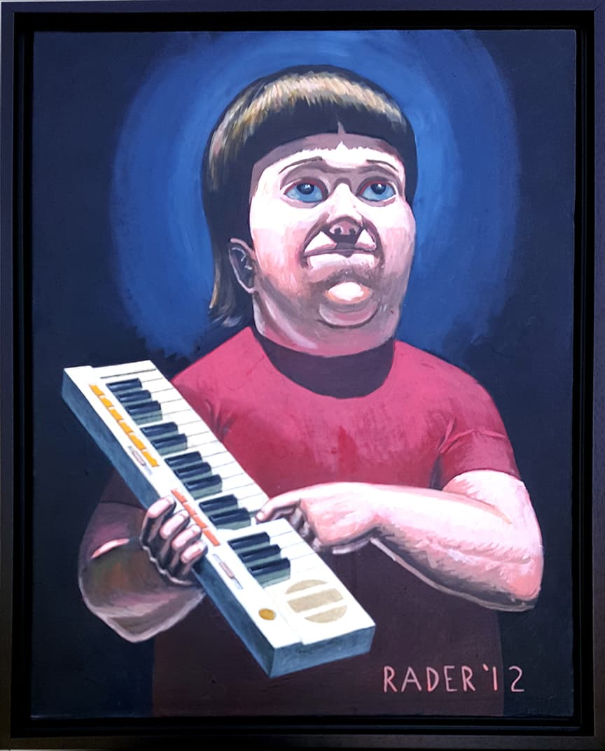 Gene Belcher with Casio SK-5 from Bob's Burgers by Brad Rader